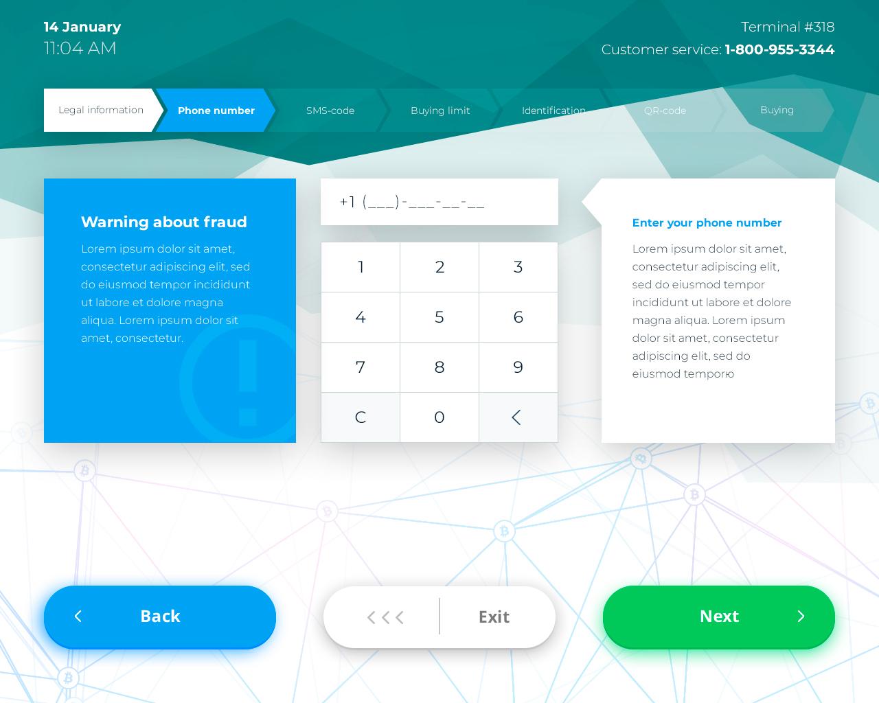 Crypto ATM software